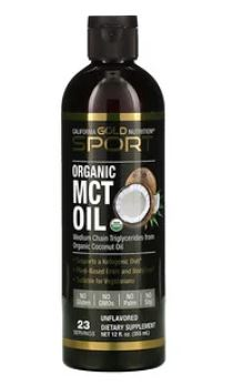 California Gold Nutrition, 유기농 MCT 오일